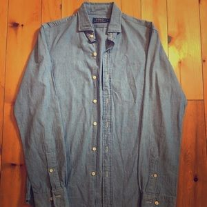 Polo Ralph Lauren Light Blue Button Down Shirt